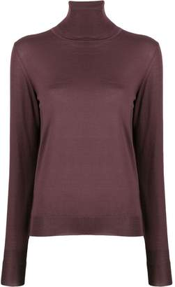 Roberto Collina roll neck knitted top