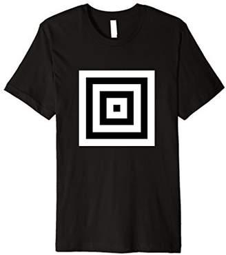 Illusion Optical Illusions Geometry Abstract Art Fun T-Shirt