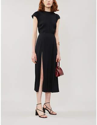 Reformation Gavin Crepe Midi Dress