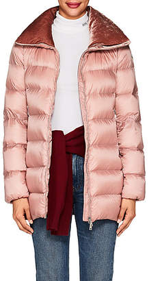 Moncler Women's Torcel Tech-Taffeta Puffer Coat - Pink