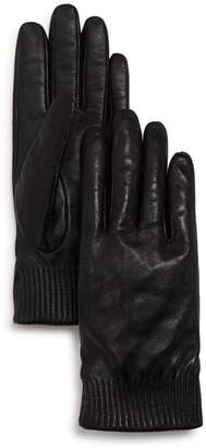 Canada Goose Leather Tech Gloves