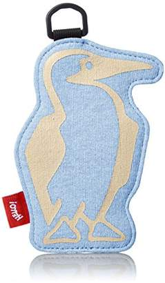 Chums (チャムス) - [チャムス] 定期入れ Booby Pass Case Sweat Nylon CH60-2012-A046-00 A046 H-Sax/Beige