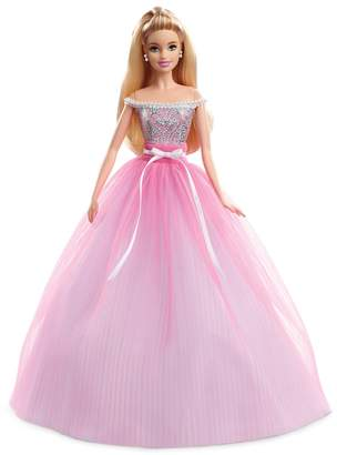 Barbie Birthday Wishes Blonde Hair & Blue Eyes Doll