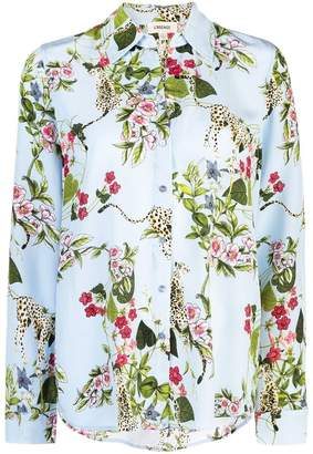 L'Agence floral print shirt