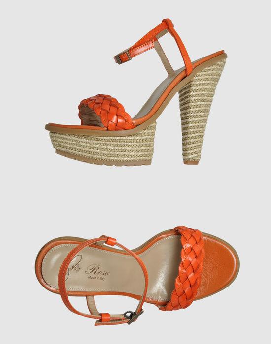 ROSE Platform sandals