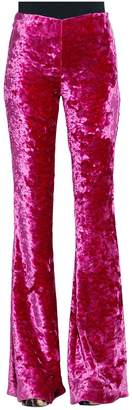 Jeremy Scott High Rise Boot Cut Velvet Pants