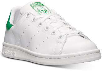 adidas Boys' Stan Smith Casual Sneakers from Finish Line $64.99 thestylecure.com