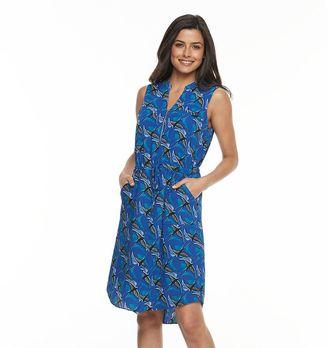 Women's Apt. 9® Zipper Accent Shirtdress $50 thestylecure.com