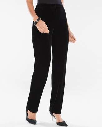 ad6346b2d979 Travelers Collection Velvet Essential Slim Ankle Pants