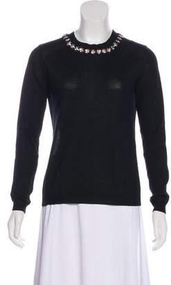 Marni Beaded Crew Neck Sweater