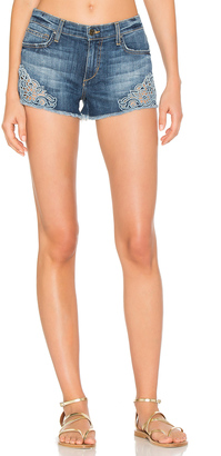 Joe's Jeans Embroidered Cut Off Short $168 thestylecure.com