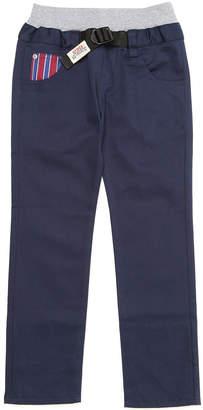 Crocs (クロックス) - crocs apparel ポケット切替 ウエストリブ ベルテッド パンツ ネイビー 110