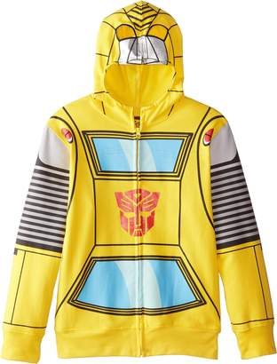 Transformers Big Boys' Bumblebee Costume Hoodie
