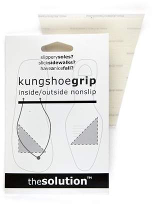 Fashion First Aid Kung Shoe Grip: Inside Outside Nonslip Nonskid, One Pair