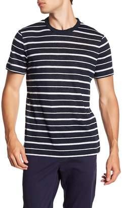 Theory Essential Crewneck Linen T-Shirt