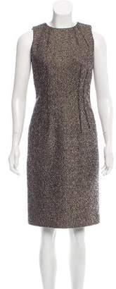 MICHAEL Michael Kors Sleeveless Tweed Dress