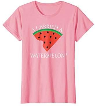 Womens I Carried A Watermelon T Shirt | Women's Regular Tee