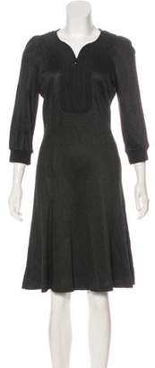 Andrew Gn Embroidered Knee-Length Dress Embroidered Knee-Length Dress