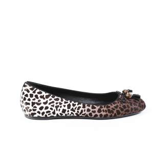 Gucci Brown Pony-style calfskin Ballet flats