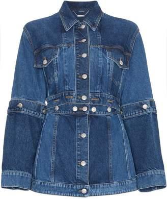 Alexander McQueen Deconstructed Denim Jacket