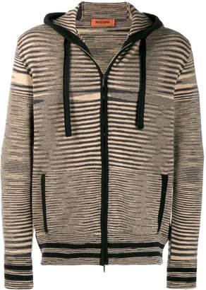 Missoni striped zip-up hoodie
