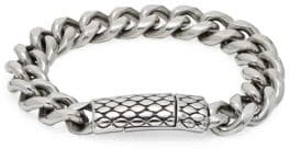 Jean Claude Bee Hive Curb Chain Bracelet