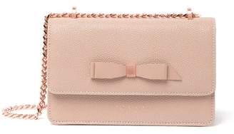 Ted Baker Jayllaa Bow Leather Crossbody Bag