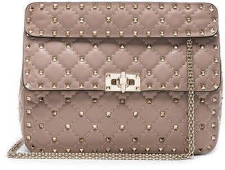 Valentino Medium Rockstud Spike Shoulder Bag