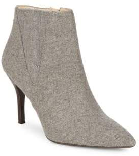 Bandolino Leather Kitten-Heel Booties