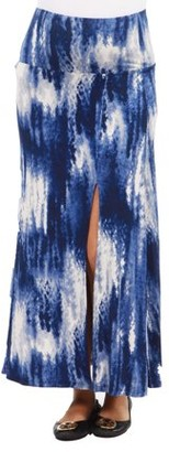 24/7 Comfort Apparel Blue Angel Maternity Skirt --Available in Plus Sizes