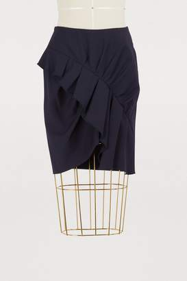 Etoile Isabel Marant Nel virgin wool skirt