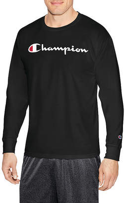 Champion Long Sleeve Crew Neck T-Shirt