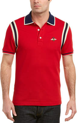 Gucci Bee Cotton Polo Shirt