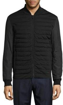 Strellson Quilted Bomber Jacket