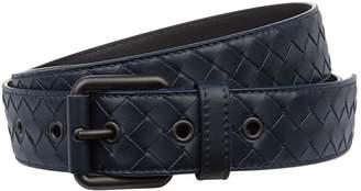 Bottega Veneta Cintura Intrecciato Leather Belt