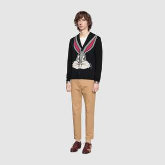 Gucci Bugs Bunny wool knit cardigan