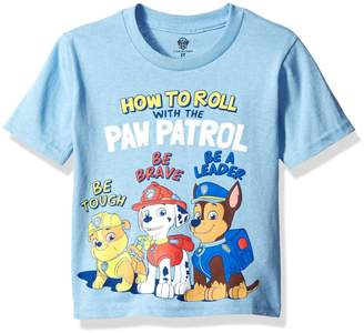 Nickelodeon Paw Patrol Toddler Boys How To Roll with The Short Sleeve T-Shirt