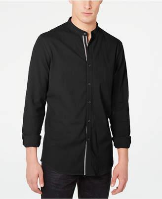 INC International Concepts I.n.c. Men Stretch Seersucker Shirt