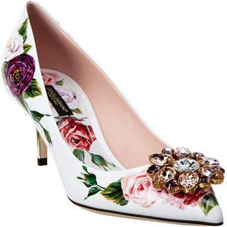 Dolce & Gabbana Bellucci 60 Embellished Patent Pump