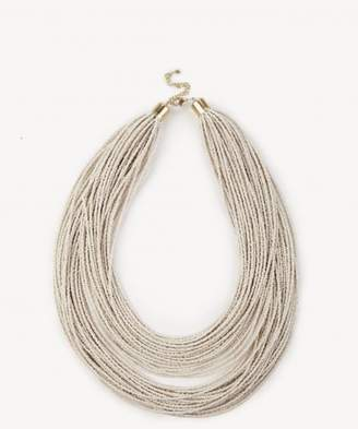Sole Society Beaded Layered Necklace