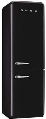 Smeg 11.7 cu. ft. Counter Depth Bottom Freezer Refrigerator with Wine Rack
