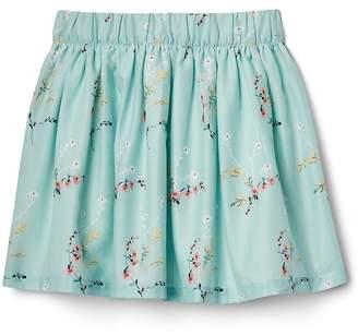 Gap Floral Flippy Skirt
