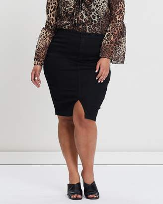 54bda711057 Plus Size Women High Waisted Skirt - ShopStyle Australia