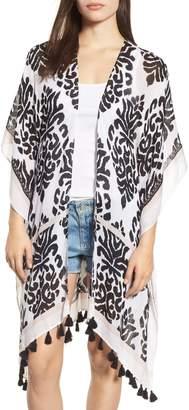 Nordstrom Print Kimono Wrap