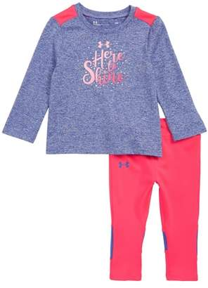 Under Armour Here to Shine Tee & Leggings Set
