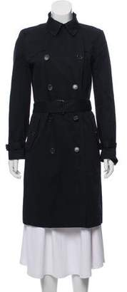 Veronique Branquinho Double-Breasted Trench Coat