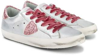 Philippe Model Kids TEEN lace-up sneakers