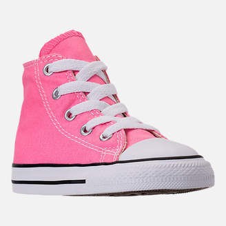 Converse Girls' Toddler Chuck Taylor High Top Casual Shoes