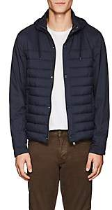 Herno MEN'S HOODED PUFFER JACKET-NAVY SIZE S