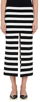 Proenza Schouler Women's Striped Compact Knit Pencil Skirt